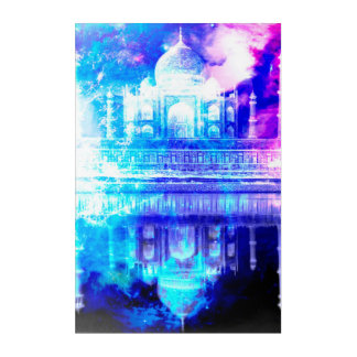 Impressions En Acrylique Rêves du Taj Mahal du ciel de la création