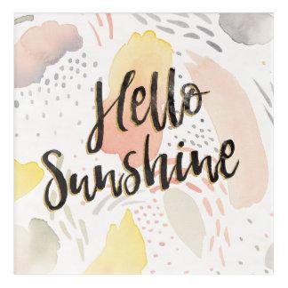Impressions En Acrylique Soleil de la brise II | de pré bonjour