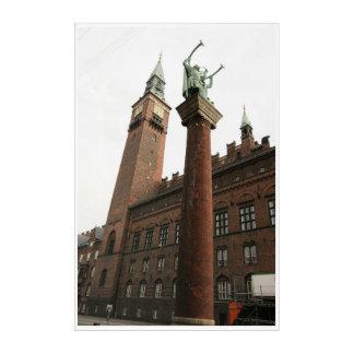 Impressions En Acrylique Statue Copanhagen Danemark
