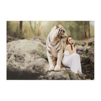 Impressions En Acrylique Tigre et Madame de Bengale