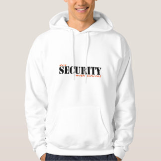 In security with Christ 2 Rouge Noir Veste À Capuche