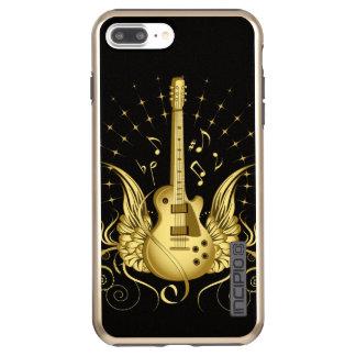 Incipio DualPro Shine iPhone 7 Plus Case Guitare à ailes d'or