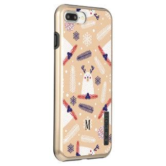 Incipio DualPro Shine iPhone 7 Plus Case Noël fait sur commande, vacances, décorations