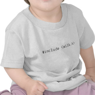 #include <milk.h> t-shirts