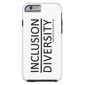 Inclusion au-dessus de cas de l'iPhone 6 de Coque Tough iPhone 6