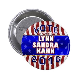 Indépendant 2016 de président élection de Lynn S Badge