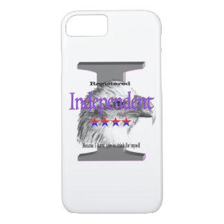 Indépendant enregistré coque iPhone 7