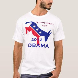 Indépendant pour le T-shirt d'Obama