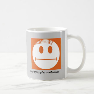 Indétectable peigne-au-dessus de mug