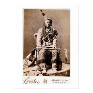 Indien 1880 de corneille carte postale