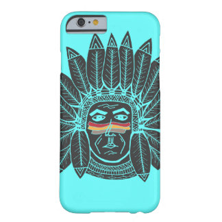 Indien en chef vintage dessiné par StellaRoot Coque iPhone 6 Barely There