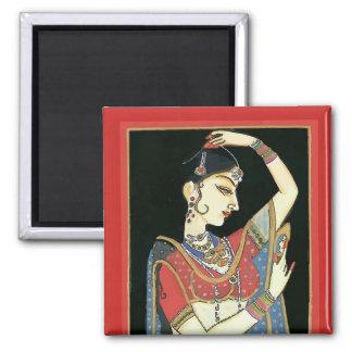 Indien, femme de Mughal, princesse Aimant