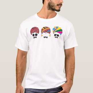 Indien rustique avec un contact de contemporain t-shirt