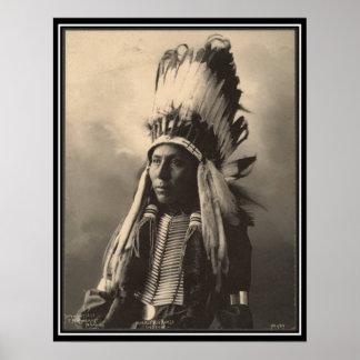 Indien vintage : Grand cheval de Hubble, Cheyenne Posters
