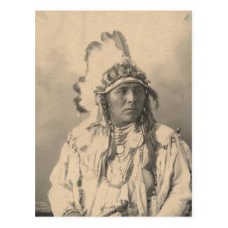 Indien vintage : Lapin repéré de Jack, corneille - Carte Postale