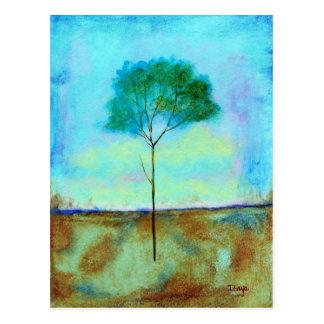 Individuel - carte postale - de la peinture