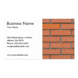 Industrie du bâtiment simple de construction de carte de visite standard