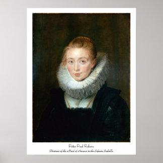 Infanta Isabella Rubens Paul d'honneur de domestiq Affiches