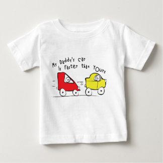Infantile le T-shirt la voiture de mon papa est