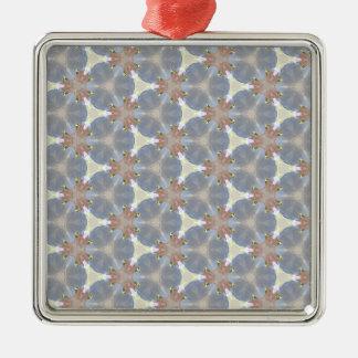 Infestation étrangère 1 ornement carré argenté