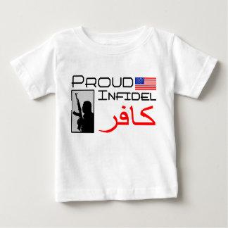 Infidèle fier t-shirt pour bébé