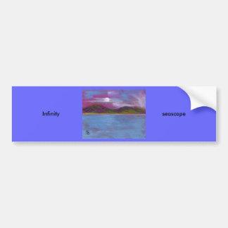 Infini (paysage marin) adhésifs pour voiture