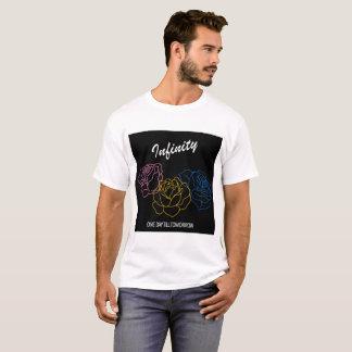 Infini - T-shirt blanc de garçons de couverture