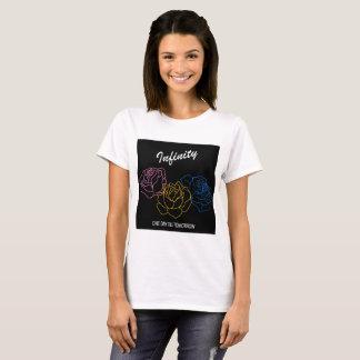 Infini - T-shirt de blanc de couverture d'album
