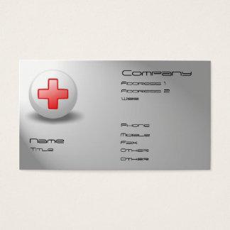 Infirmière Cartes De Visite