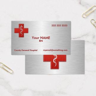 Infirmière de luxe cartes de visite