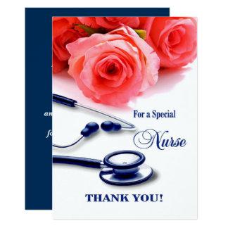 Infirmière de Merci. Cartes de voeux