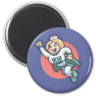 Infirmière nocturne ! magnets pour réfrigérateur