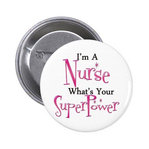 Infirmière superbe badges avec agrafe