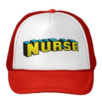 Infirmière superbe casquette de camionneur