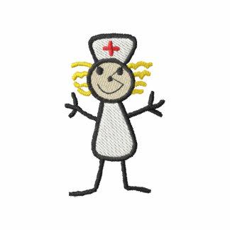 Infirmière Sweat-shirt Molletonné Brodé