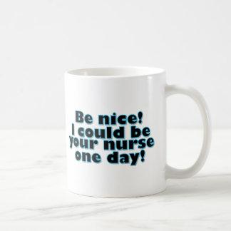 Infirmière Tasse