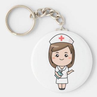 Infirmière traditionnelle porte-clé