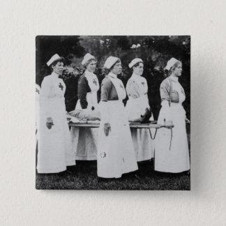 Infirmières de Première Guerre Mondiale avec la Pin's