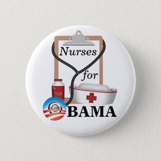 Infirmières pour Obama ! Badges