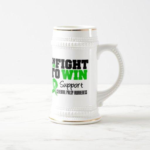 Infirmité motrice cérébrale dans le combat à gagne mug