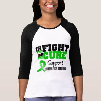 Infirmité motrice cérébrale dans le combat pour le t-shirts