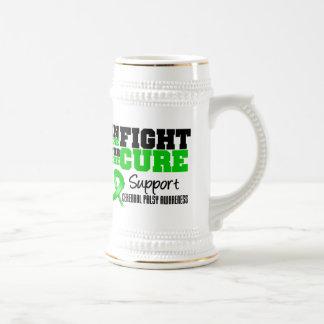 Infirmité motrice cérébrale dans le combat pour le mugs