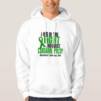 Infirmité motrice cérébrale dans le combat pour sweatshirts avec capuche