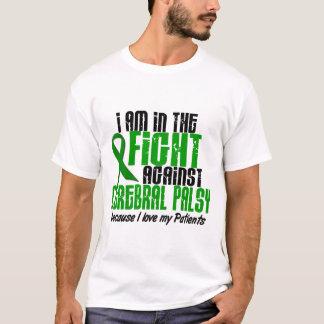 Infirmité motrice cérébrale dans le combat pour t-shirt