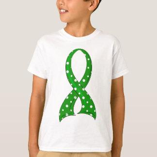 Infirmité motrice cérébrale de ruban de point de t-shirt