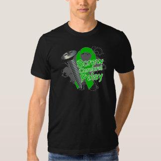 Infirmité motrice cérébrale de vis t-shirt