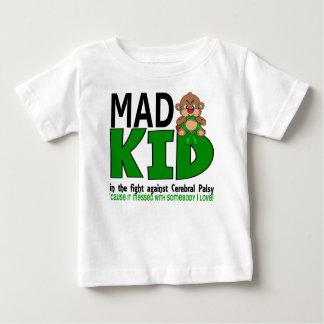 Infirmité motrice cérébrale folle d'enfant t-shirt