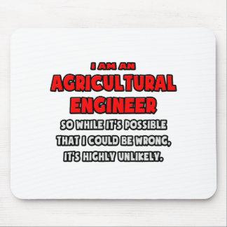 Ingénieur agricole drôle Fortement peu probable Tapis De Souris