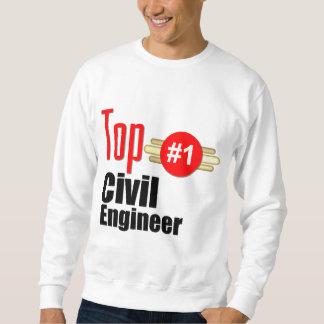 Ingénieur civil supérieur sweatshirt