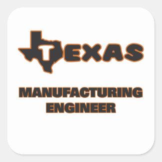 Ingénieur de fabrication du Texas Sticker Carré